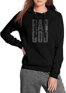 Black Womens Pullover Hoodie Sweatshirt Eminem-Recovery-Album-Cover- Fleece Long Sleeve