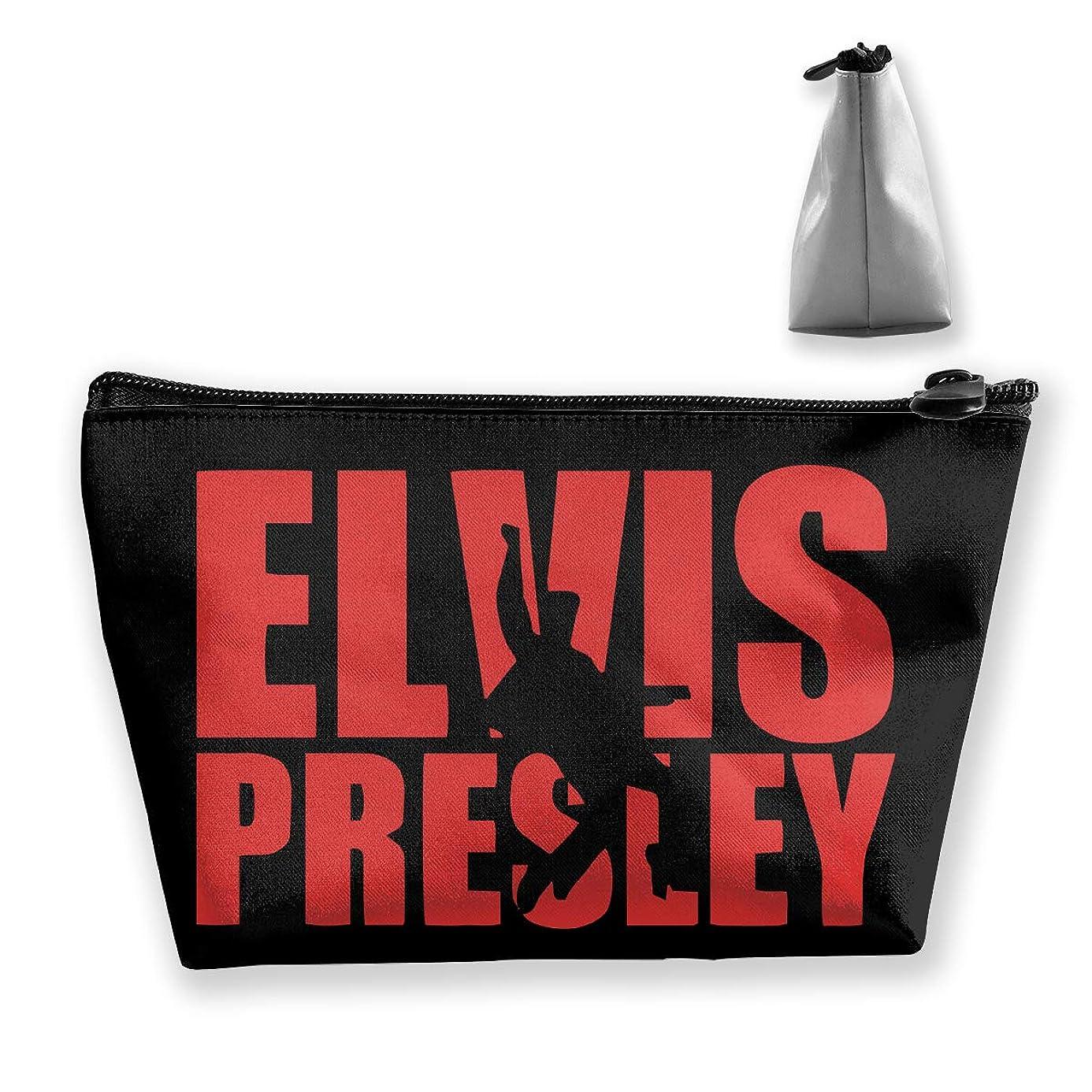 マトロン方法論ペチュランスエルヴィス プレスリー 英字プリント Elvis Presley 収納バッグ 化粧バッグ メイクポーチ 化粧品収納 ラダー トラベルポーチ 小物入れ 普段使い 機能的 大容量 旅行も便利 撥水する防水ポーチ ユニークバック