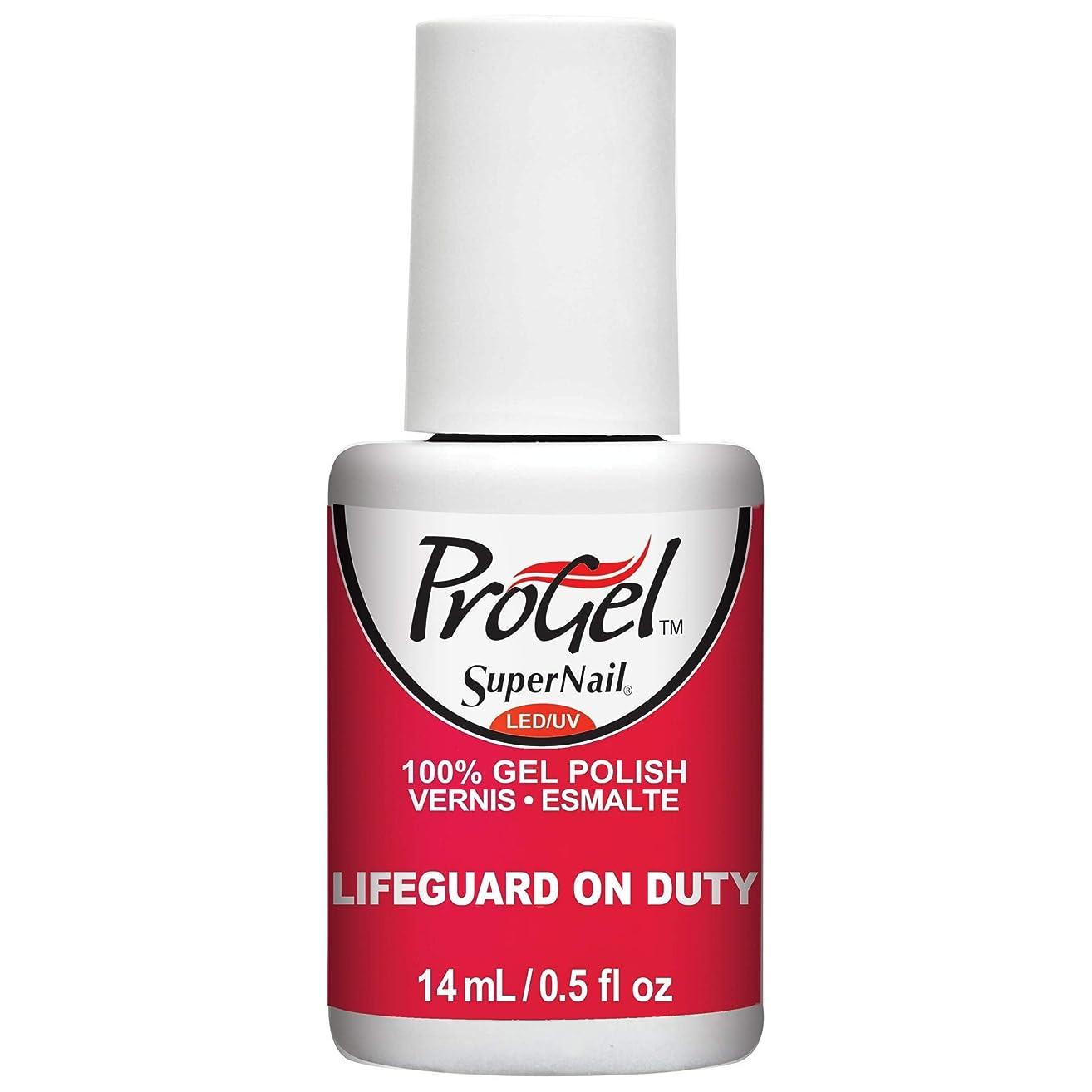 納税者お誕生日自分自身SuperNail ProGel Gel Polish - Lifeguard on Duty - 0.5oz / 14ml
