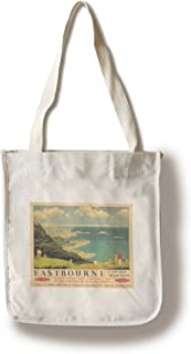 Eastbourne Vintage Poster (Artist: Tripp) UK c. 1948 (100% Cotton Tote Bag - Reusable)