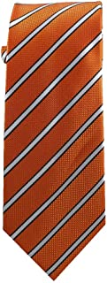 Children's Tie (ages 8-14 years old) Nemo Orange and Black Stripes Youth Tie
