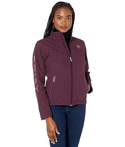 Ariat New Team Softshell Jacket (Wine Tasting) Women