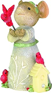 Enesco Tails with Heart Christmas Cardinal Figurine, 2.01 Inch, Multicolor