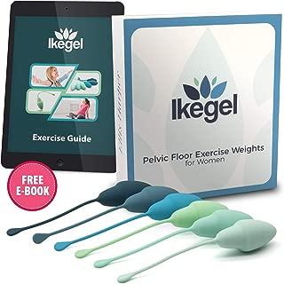 Ikegel Kegel Balls for Tightening with Workout eBook   Easy to Use Pelvic Floor Strengthening Device  aka  Ben Wa Balls for Women   Kegal Exercise Device for Women   Kegel Exercise Products for Women