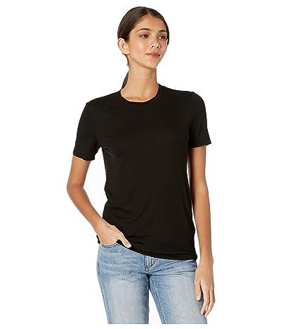 AG Adriano Goldschmied Gray Boy T-Shirt (True Black) Women