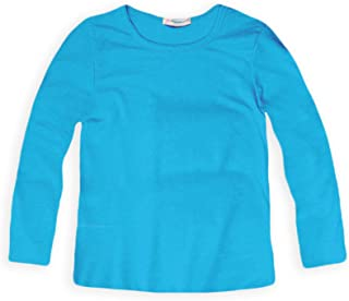 Ladies/' Cotton T Shirt Top Turquoise Blue Green Butterfly Detail Sizes 16 /& 20