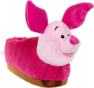 Image of Pink Piglet Slippers for Women
