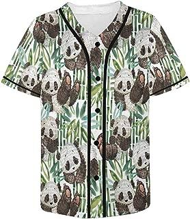 InterestPrint Men Shirt Yin and Yang White and Black Cats Short Sleeve Summer Tees Blouses S-5XL