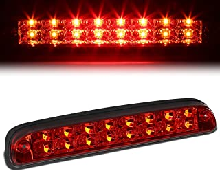 For Ford Super Duty/Ranger/Mazda B-Series High Mount Dual Row LED 3rd Tail Brake/Cargo Light (Red Lens)