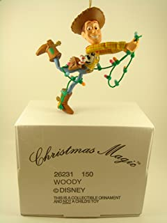 Woody Toy Story Disney Christmas Magic Collectible Ornament Grolier