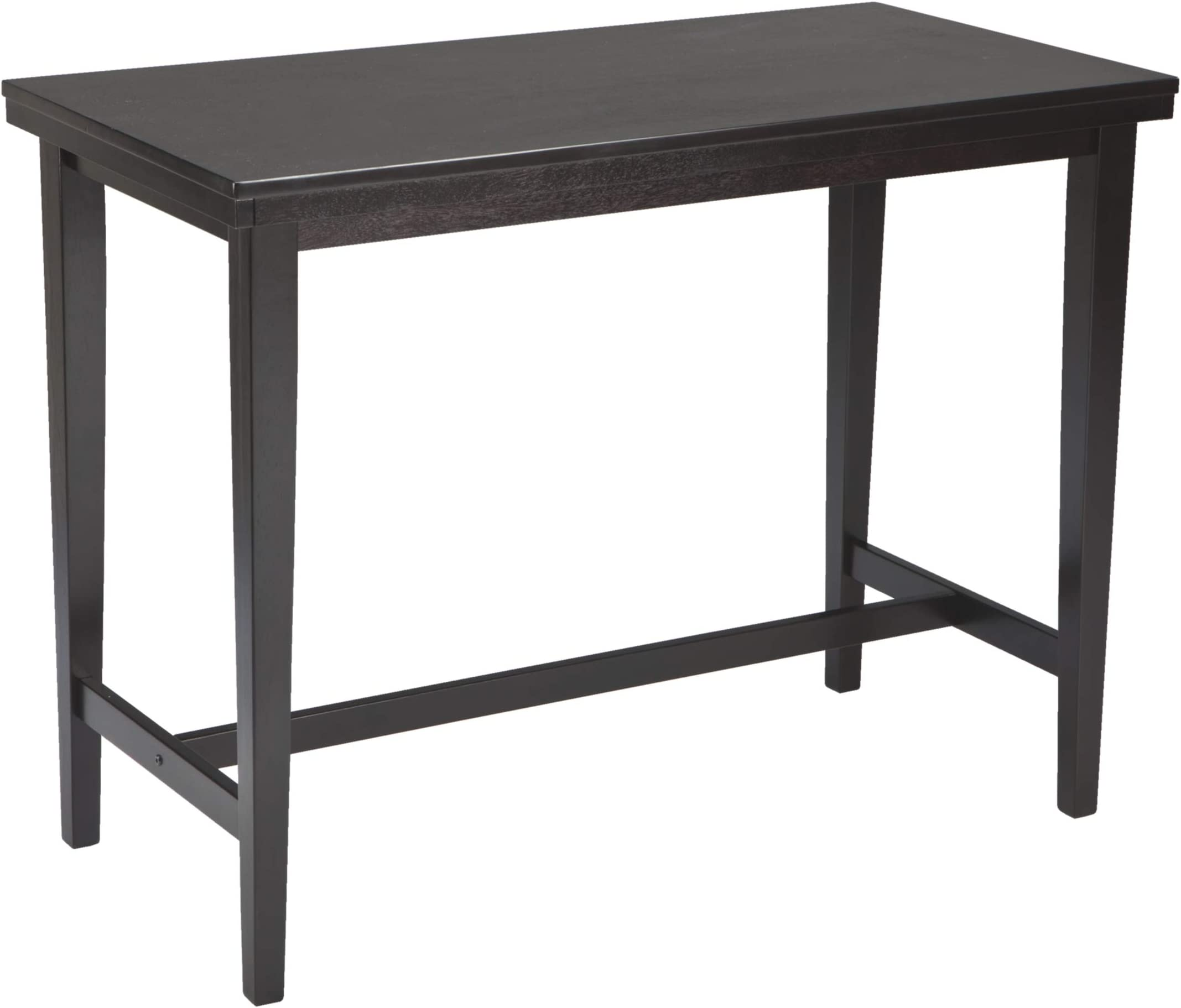 Signature Design by Ashley Kimonte Counter Height Dining Room Table, Dark Brown