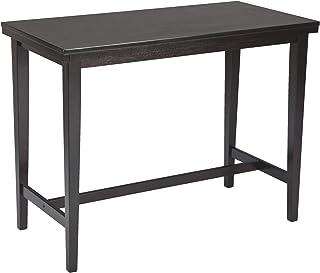 Ashley Furniture Signature Design - Kimonte Dining Room Table - Counter Height - Rectangular - Dark  sc 1 st  Amazon.com & Amazon.com: Counter Height - Tables / Kitchen u0026 Dining Room ...