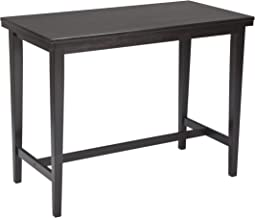 Ashley Furniture Signature Design - Kimonte Dining Room Table - Counter Height - Rectangular - Black