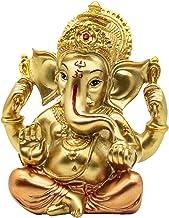 BangBangDa Hindu Lord Ganesh Idol Statue - India Diwali Decor God Ganesha - Indian Wedding Return Gifts Murti Pooja Items