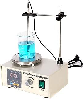 CO-Z Magnetic Stirrer Hot Plate, Digital Hot Plate with Magnetic Stirrer Bar, Magnetic Stirrer Mixer Chemistry Hot Plate, Lab Stirrer 200W, 100ML.
