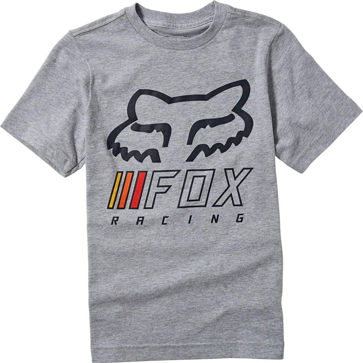 Fox Unisex Youth Overhaul Ss Tee Light Heather Grey Tees
