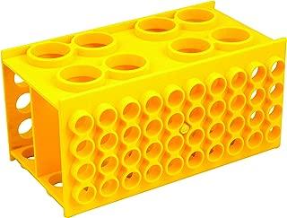 Universal Multi Size Test Tube Rack - Polypropylene - Holds 30mm, 20mm, 17mm, and 12mm Diameter Test Tubes