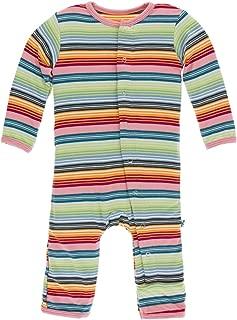 Kickee Pants Baby Girls' Printed Coveralls