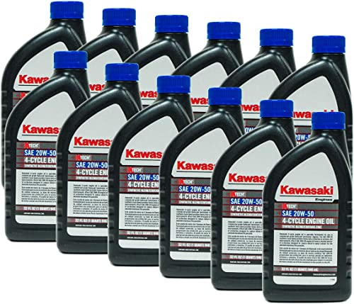 new arrival 12PK SAE 20W50 4-Cycle Engine Motor Oil online sale OEM# 99969-6298 Quart high quality Bottle outlet sale