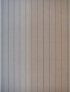 York Wallcoverings MI10071 Missoni Home Vertical Stripe Wallpaper - Sepia/Grey