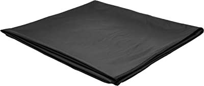 Kuber Industries Waterproof PVC Double Mattress Protector - King, Black