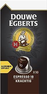 Douwe Egberts Koffiecups Espresso Krachtig, (100 Capsules, Geschikt voor Nespresso* Koffiemachines, Intensiteit 10/12, UTZ...