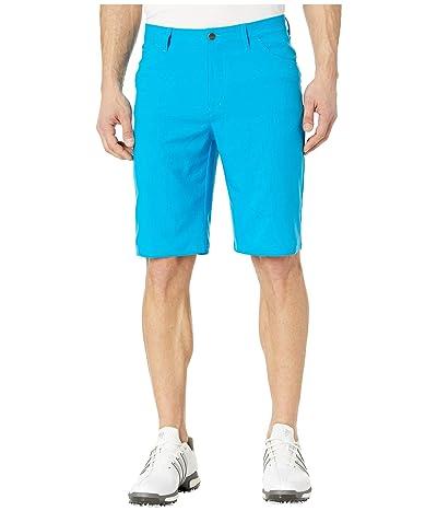 adidas Golf Primeblue Golf Shorts (Sharp Blue) Men