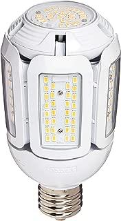 Satco S9799 60 Watt LED HID Replacement 2700 Kelvin Mogul Base Adjustable Beam Angle 100-277V Light Bulb, (EX39)