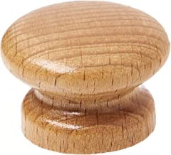 Vesta 16833 Wooden Pot Lid Knob, D3.5cm