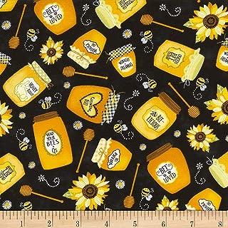 Best honey bee fleece fabric Reviews