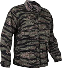 Tiger Stripe Camouflage Military Tactical Poly/Cot Fatigue Bdu Shirt