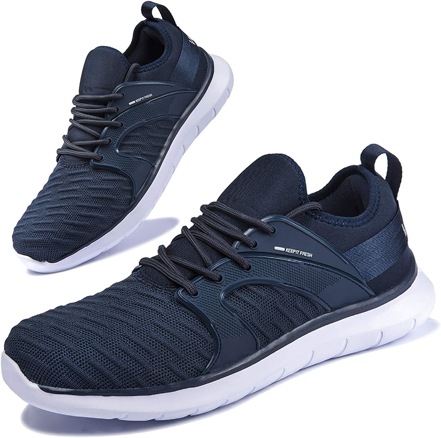 Anbenser New life Mens Walking Complete Free Shipping Shoes Women with Arch Support Athl Slip on