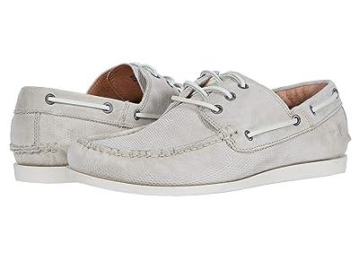 Frye Briggs Boat Shoe (Milkshake Diamond Suede) Men