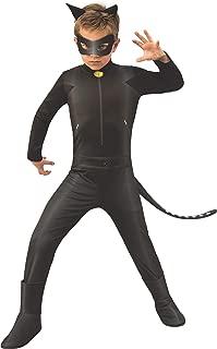 Ladybug - Disfraz de Cat Noir para niños, talla 3-4 años (Rubie'S 640904-S)