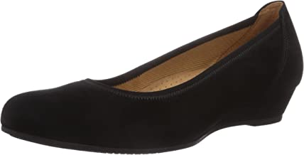 Gabor Women's Chester Ladies Wide Fit Low Wedge Pumps