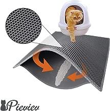 Pieviev Cat Litter Box Mat Litter Trapper of Jumbo Size 30