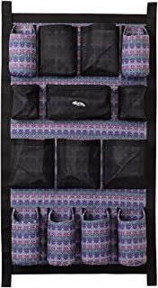 Weaver Leather Trailer Grooming Bag, Purple Geo