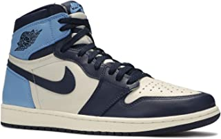 Jordan Air 1 Retro High Og (Sail/Obsidian-University Blue 11)