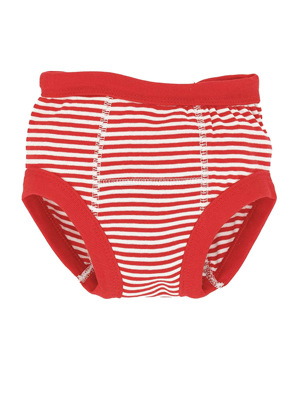 Organic Training Pants - Red Stripes 12-24m