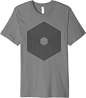 """Packages"" abstract geometric shape web developer Premium T-Shirt"
