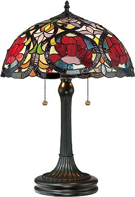 Lampe de table FARFALLA 8 - En métal et verre - Multicolore - Diamètre : 41 cm - 58 cm