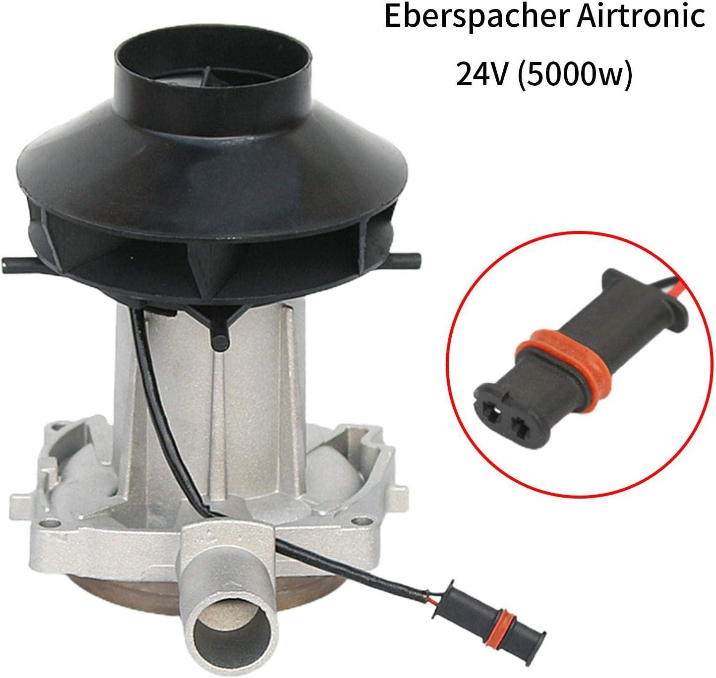 Ksruee Motor de soplador de Aire de combusti/ón de 12 V 5000 W Compatible con Calentador de estacionamiento de Repuesto Airtronic Eberspacher 24 V 2000 W