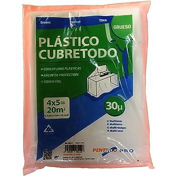 Plastico Cubretodo Protector LPDE 4 x 5 Metros Grueso