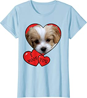 Puppy shirt for Kids, I Woof You Cute I love puppies shirts