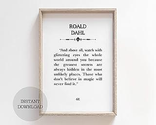 Roald Dahl abat-jour Idéal Pour Correspondre à Roald Dahl Couettes /& Roald Dahl papier peint.