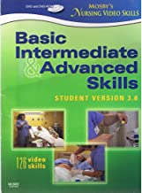 Mosby's Nursing Video Skills DVD and DVD-ROM SET (A Total of 6 Discs) Basic, Intermediate, and Advanced Skills, Student Version 3.0 - 126 Video Skills