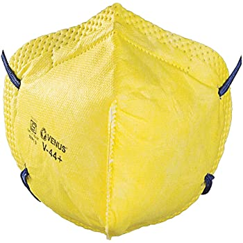 Venus V44+ FFP1 Respirator Mask, ISI Marked, Yellow, Pack of 1