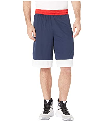 Nike Dry Icon Shorts (College Navy/White/University Red) Men