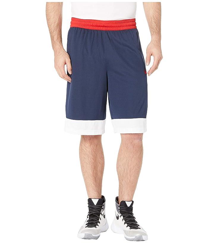 Nike Dry Icon Shorts (College Navy/White/University Red) Men