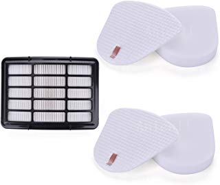 Anicell Replacement Filter Set for Shark Navigator Lift Away Replacement Filters,for Shark Nv350 Nv351, Nv352, Nv355, Nv356, Nv357 Vacuum Cleaner - Part # XFF350 & XHF350,
